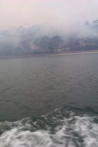 Stieglitz fire from Break O' Day along Parkside Beach - Courtesy of I Hollingsworth