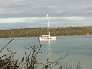 Kraken aground at Pelican Point